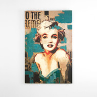 Canvas Print: Marilyn Green