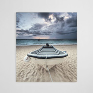 Canvas Print: Solitary Shore