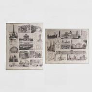Canvas Print: Architectural Splendour Pair
