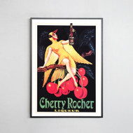 Framed Print: Cherry Rocher
