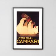Framed Print: Cordial Campari