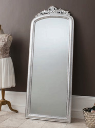 "Haighton Mirror Silver 73x28"""" Gallery Direct"""""