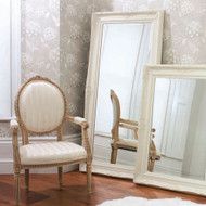 "Harrow Leaner Mirror Cream 67.5x33.5"""" Gallery Direct"""""