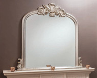 "Heversham Mirror Silver 47x45.5"""" Gallery Direct"""""