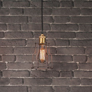 "Indiana Pendant Light 10"" Gallery Direct"