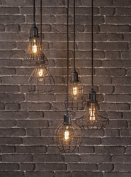 "Rostock Cluster Light 42"" Gallery Direct"
