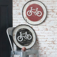 "Velo Metal Wall Plaque 19.5"" (Set of 2) Gallery Direct"