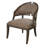 Onora Armless Chair by Uttermost