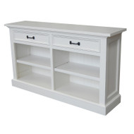 Bella House Geneva Console Bookcase - White