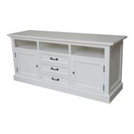 Bella House Geneva TV Cabinet 170cm - White