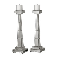 Alanna Candleholders - Set of 2 by Uttermost