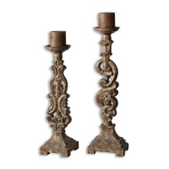 Gia Candleholders - Set of 2 by Uttermost
