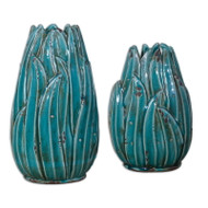 Darniel Vases - Set of 2 by Uttermost