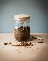 Storehouse Jar with Wooden Lid - Small