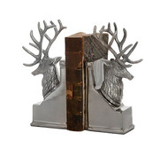 Deer Bookends - Nickel