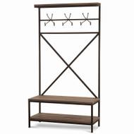 Craftsman Hallstand w/ Bench - Size: 196H x 104W x 46D (cm)