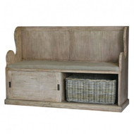 Lincoln Entry Bench large - Size: 100H x 155W x 47D (cm)