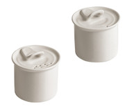 Porcelain Salt + Pepper Cellars