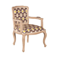 Argyle Occasional Chair - Mocha