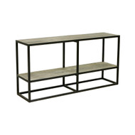 Industria Console Table with Shelf