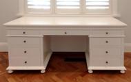 St James Desk - White