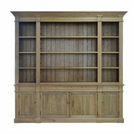 Reims Library Bookcase - Natural Oak