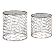 Aida Accent Tables S/2 by Uttermost