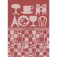 Tea Towel BISTROT ROUGE