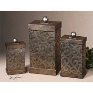 Nera Boxes - Set of 3 by Uttermost