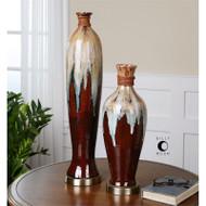 Aegis Vases - Set of 2 by Uttermost