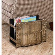 Maja Magazine Holder by Uttermost
