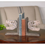 Dinosaur Bookends - Set of 2 by Uttermost