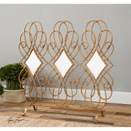 Lilou Fireplace Screen by Uttermost