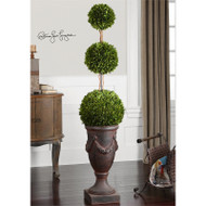 Preserved Boxwood Triple Topiary - Botanicals