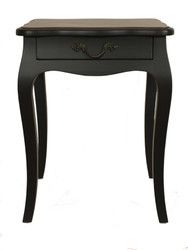 Josephine Bedside Table (Black)