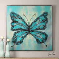 Butterfly On Display a Paintings by Uttermost