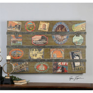 International Trunk a Paintings by Uttermost