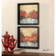 Fall Riverside Set of 2 a Prints Framed by Uttermost