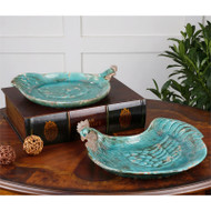 Galiana Trays - Set of 2 by Uttermost