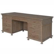 St James Desk - Brown Oak Drifted