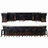 Bar Counter - Size: 109H x 523W x 150D (cm)