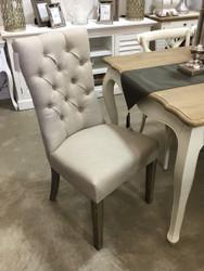 Esther Dining Chair - Beige Linen