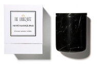 Nero Marquina Marble Candle Vessel