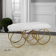 Blaine Bench by Uttermost