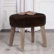 Caballot Small Stool by Uttermost