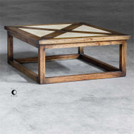 Akono Coffee Table by Uttermost