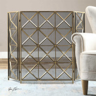 Akiva Fireplace Screen by Uttermost