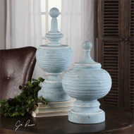Philippa Finials Set/2 by Uttermost