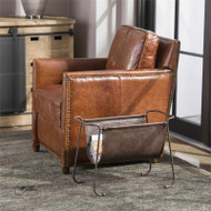 Alec Magazine Rack by Uttermost