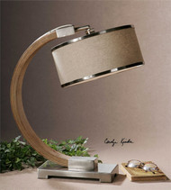 Metauro Desk Lamp by Uttermost